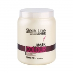 Stapiz Sleek Line Colour Masque - Maska z Jedwabiem do Włosów Farbowanych 1000 ml
