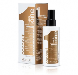 Revlon Uniq One Coconut Hair Treatment - Maska z Kokosem w Sprayu  10in1 - 10 Korzyści 150 ml