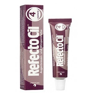 RefectoCil 4. Kasztan - Żelowa Henna do Brwi i Rzęs 15 ml