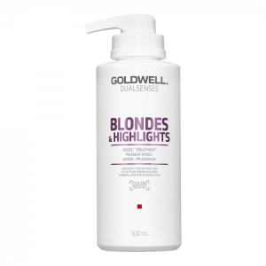 Goldwell Dualsenses Blondes & Highlights 60sec Treatment - Maska do Włosów Blond 500 ml