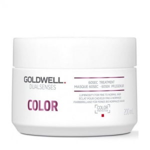 Goldwell Dualsenses Color 60sec Treatment - Maska do Cienkich i Normalnych Włosów Farbowanych 200 ml