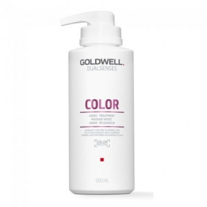 Goldwell Dualsenses Color 60sec Treatment - Maska do Cienkich i Normalnych Włosów Farbowanych 500 ml